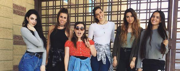 "Die US-amerikanische Girlband ""Cimorelli"""