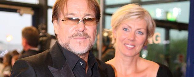 Götz George mit seine Frau Marika