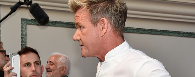 Gordon Ramsay gibt ein Interview im Caesars Palace in Las Vegas