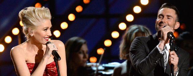 Gwen Stefani und adam levine
