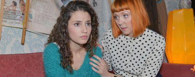 Nadine Menz und Ramona Dempsey