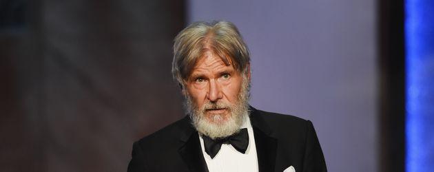 Harrison Ford hält eine Rede bei der Life Achievement Award Gala in L.A.