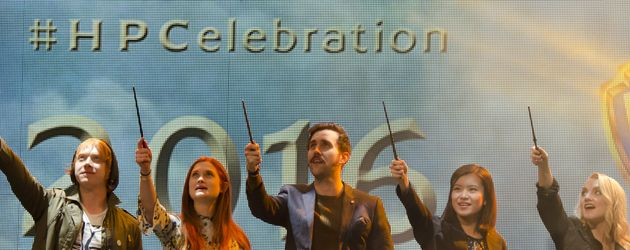 Rupert Grint, Bonnie Wright, Matthew Lewis und Evanna Lynch