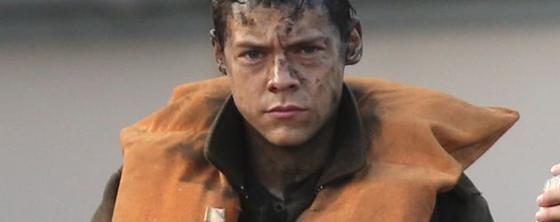 "Harry Styles am Set von ""Dunkirk"" in Weymouth Harbour"