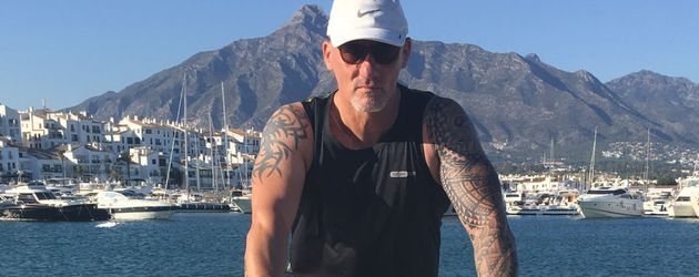 Headcoach Frank 'Franco', Fitness-Trainer der Stars in Spanien