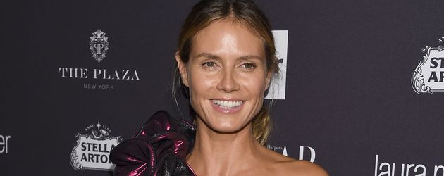 Heidi Klum auf einem Glamour-Event der New York Fashion Week