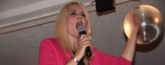 Helena Fürst im Krümls Stadl auf Mallorca