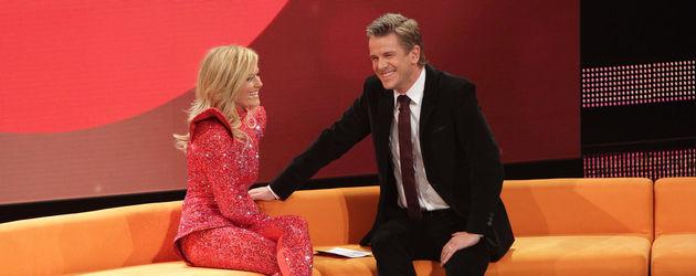 Helene Fischer und Markus Lanz