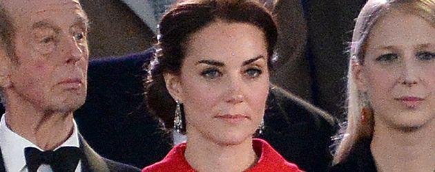 Herzogin Kate während der Feierlichkeiten zum 90. Geburtstag der Queen