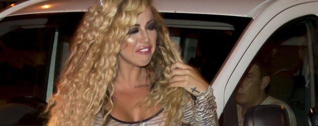 Holly Hagan auf Zypern im Juli 2016