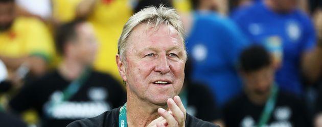 Horst Hrubesch, Trainer der deutschen Olympia-Fußballer