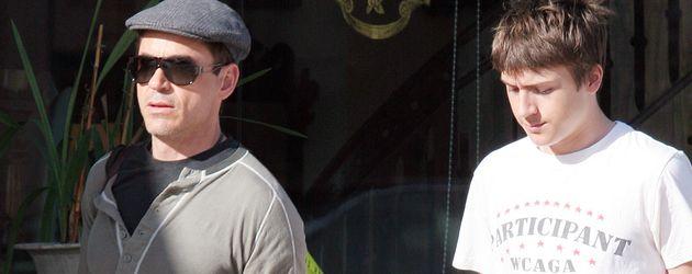 Robert Downey Junior und Indio Downey