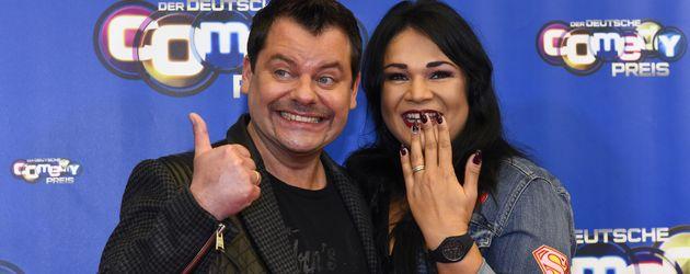 Ingo Appelt und seine Ehefrau Sonja beim Deutschen Comedypreis 2016