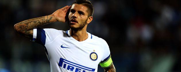 Inter-Stürmer Mauro Icardi