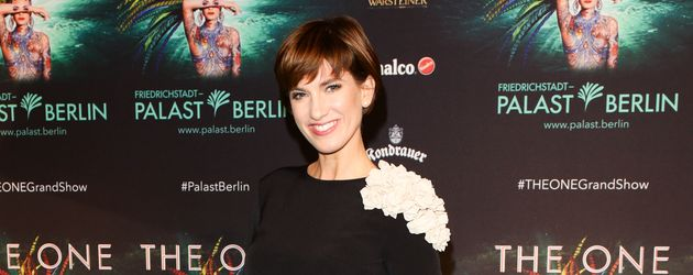Isabell Horn bei der Premiere von THE ONE Grand Show in Berlin