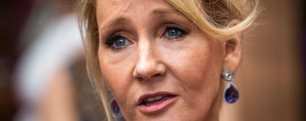 "J.K. Rowling bei der Presseschau zu ""Harry Potter & The Cursed Child"" in London"