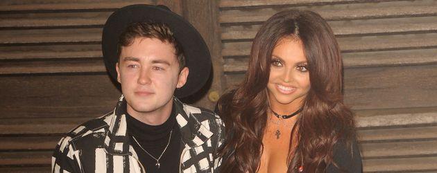 Jake Roche und Jesy Nelson Anfang November 2016 nach einer TV-Show in London