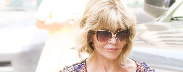 Jane Fonda in New York