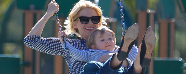 January Jones und Xander Dane Jones