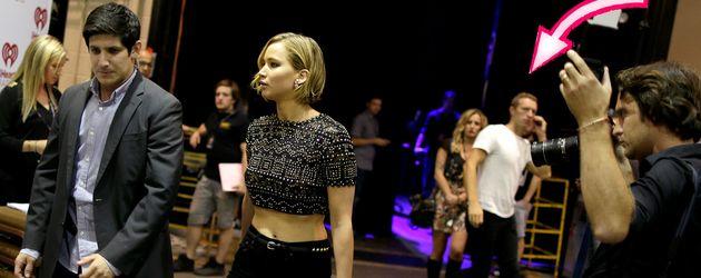 Jennifer Lawrence und Chris Martin