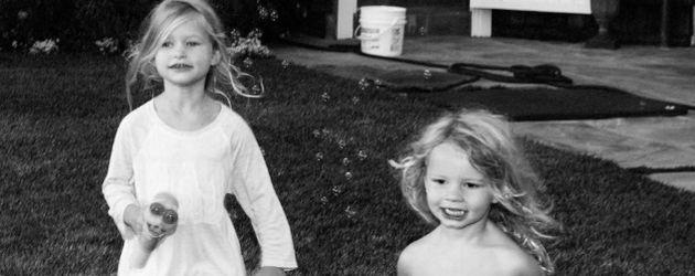 Ace Knute (r.) mit seiner Schwester Maxwell Drew, Kinder von Jessica Simpson