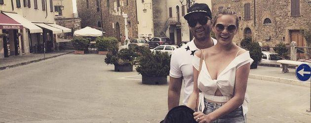 John Legend, Chrissy Teigen und Tochter Luna in Italien