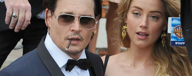Johnny Depp und Amber Heard in Venedig