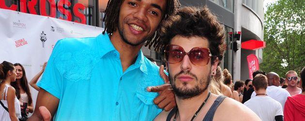 Johnny Strange und Manuel Cortez 2010