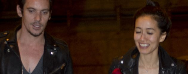 Jonathan Rhys Meyers und Mara Lane in Rom