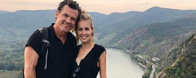 Josh Brolin und Kathryn Boyd in ihren Flitterwochen