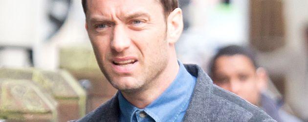 Jude Law auf der Straße