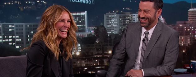 Julia Roberts und Jimmy Kimmel