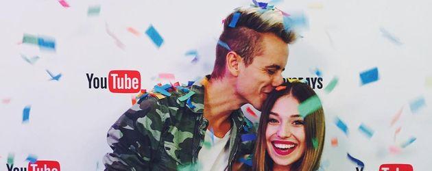 Julian Claßen und Bibi Heinicke bei den Videodays 2016