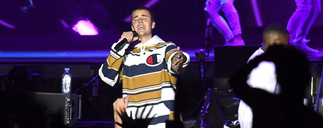 "Justin Bieber beim ""V-Festival"" 2016 in London"