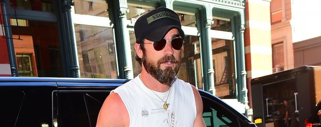 Justin Theroux in New York