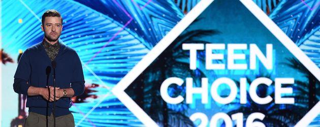 Justin Timberlake bei den Teen Choice Awards 2016