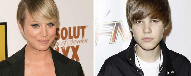 Justin Bieber und Kaley Cuoco