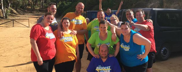 "Gruppenbild der Kandidaten von ""The Biggest Loser"" 2017"