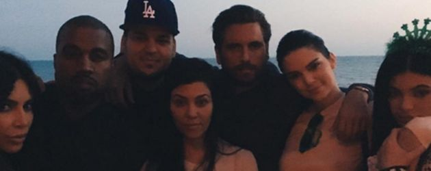 Kylie Jenner, Kim Kardashian, Kanye West, Kendall Jenner, Robert Kardashian, Kourtney Kardashian und