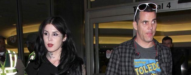 Steve-O und Kat Von D