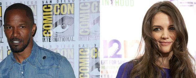 Katie Holmes und Jamie Foxx