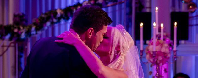 Lucas Cordalis und Daniela Katzenberger beim Hochzeitstanz
