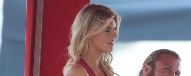 """Kelly Rohrbach am Set von """"Baywatch"""""""