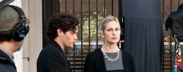 Kelly Rutherford und Penn Badgley