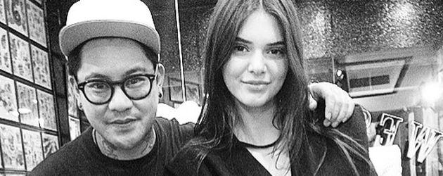 Celebrity-Tätowierer Jon Boy und Kendall Jenner