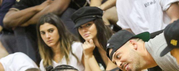 Kendall Jenner bei einem Basketballspiel in LA