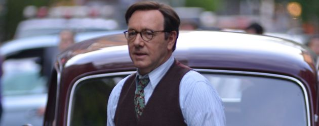 "Kevin Spacey bei Dreharbeiten zu ""Rebel in the Rye"" in NYC"