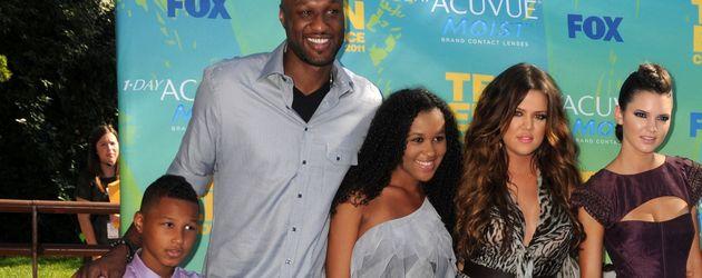Khloe Kardashian, Lamar Odom und Destiny Odom