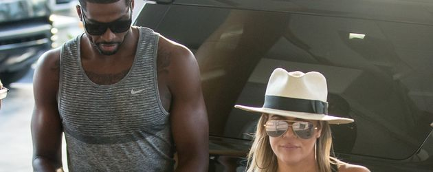 Tristan Thompson und Khloe Kardashian in Miami