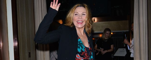 Schauspielerin Kim Cattrall in London